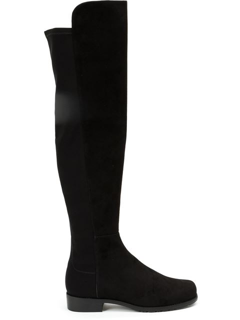 Women'S Reserve Suede Over-The-Knee Boots, Black