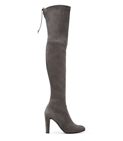 Highland Suede Boot, Charcoal Suede