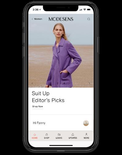 ModeSens iOS App
