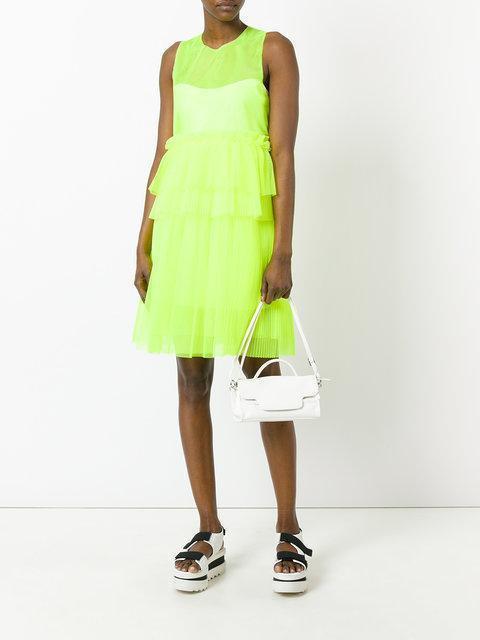 MSGM Ruffle Mesh Dress