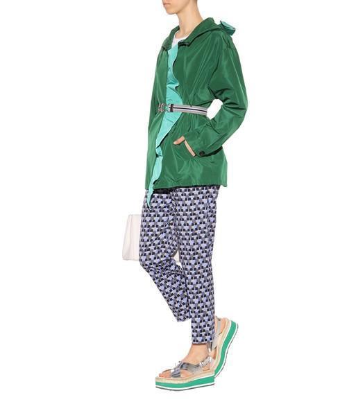 PRADA Silk Jacket, Green