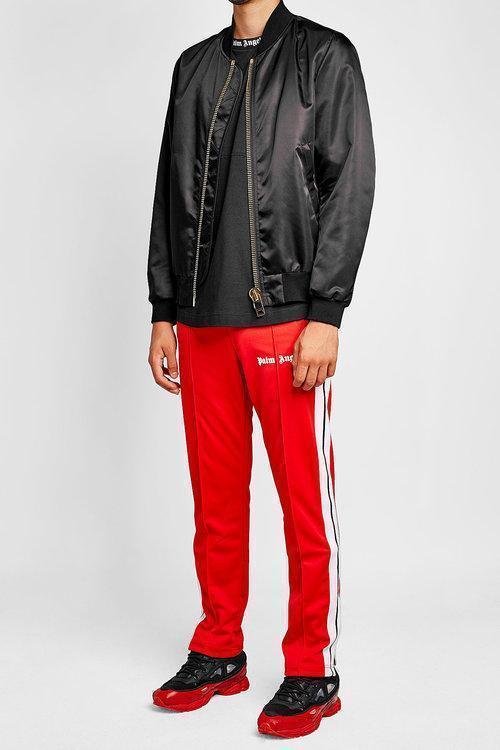RAF SIMONS Black & Red Adidas Originals Edition Ozweego 3 Sneakers