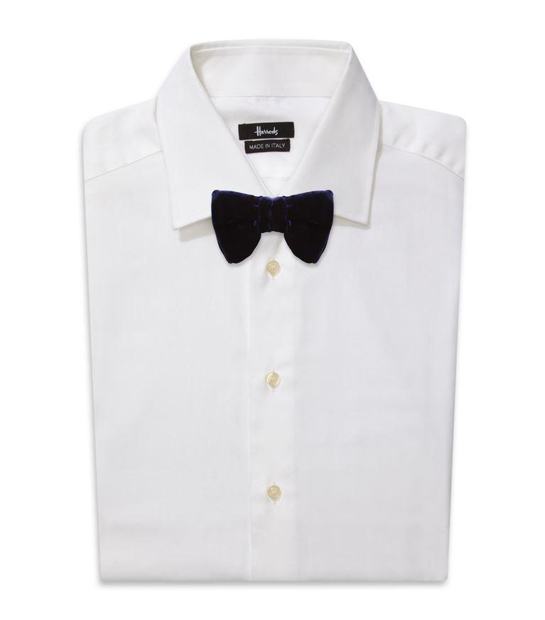 TOM FORD Large Grosgrain Bow Tie, Black