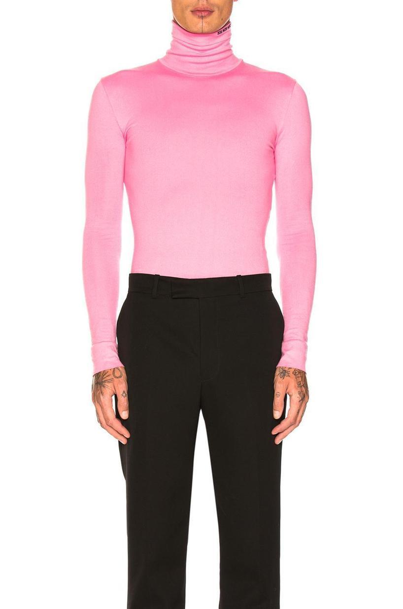 CALVIN KLEIN 205W39NYC Western-Pocket Wool Shirt in Black