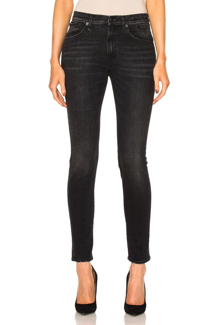 R13 Jenny Mid Rise Skinny Jeans
