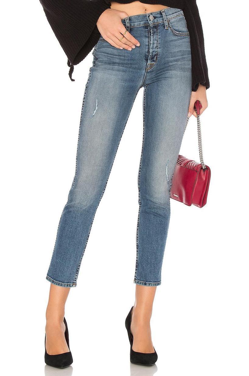 HUDSON Holly High Waist Ankle Skinny Jeans, Babyface