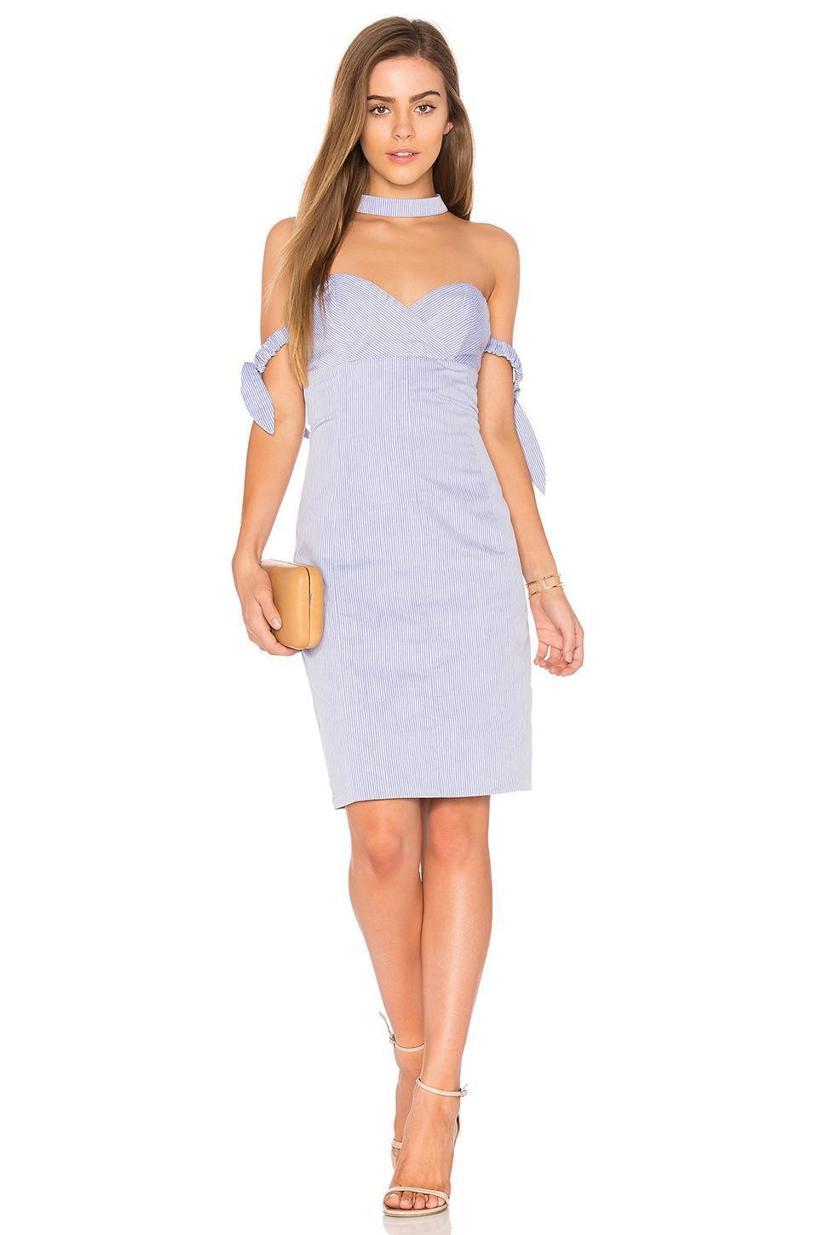 ENDLESS ROSE Off The Shoulder Mini Dress