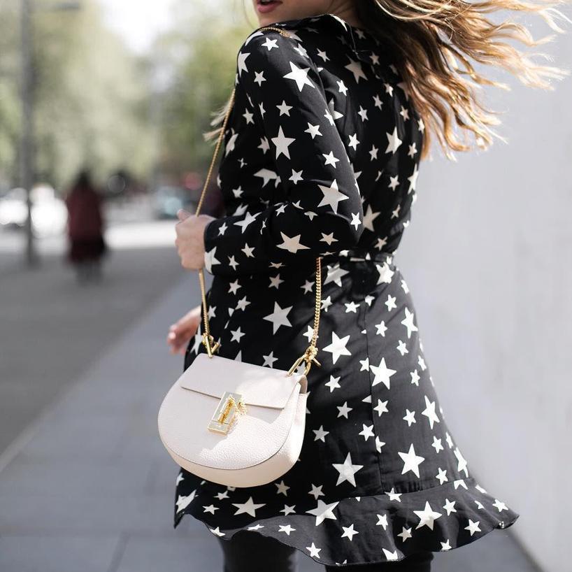 SAINT LAURENT Embellished Silk-Georgette Mini Dress