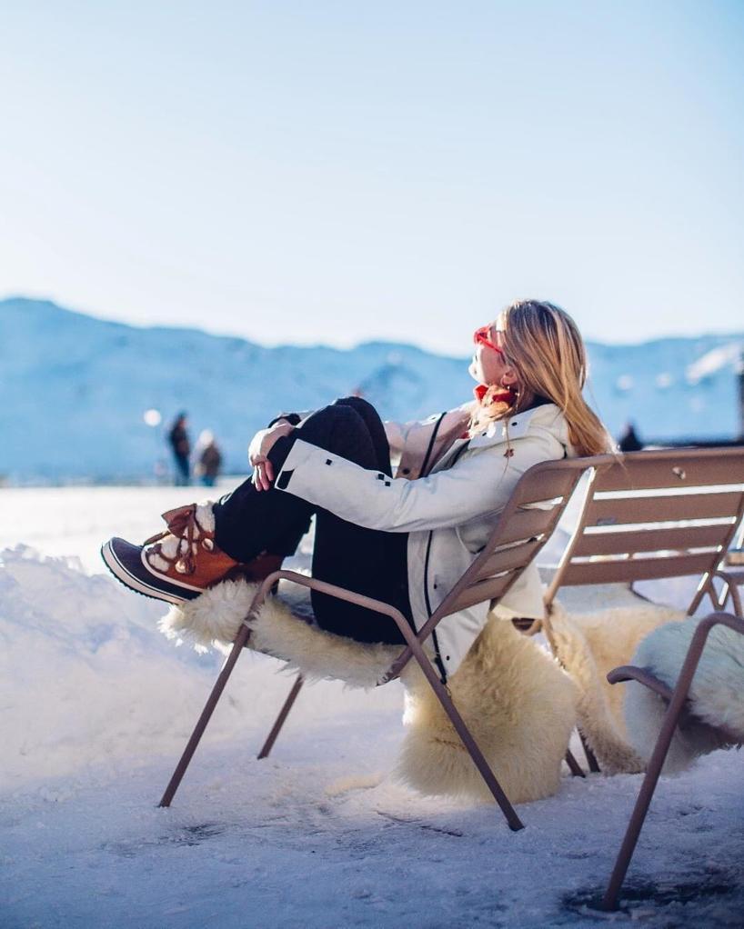 Chloé Sorel x Women's Waterproof Suede & Shearling Lace Up Cold-Weather Booties rir3EPYa6c