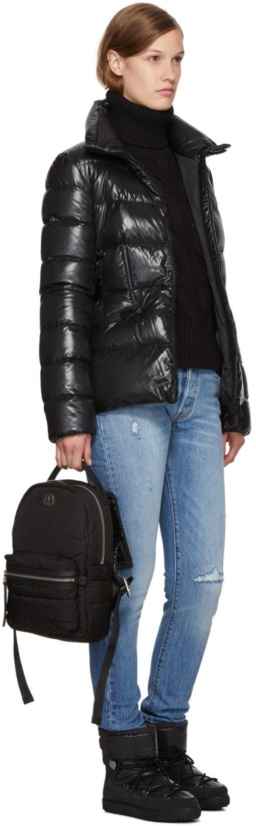 MONCLER Georgette Backpack, 999 Black