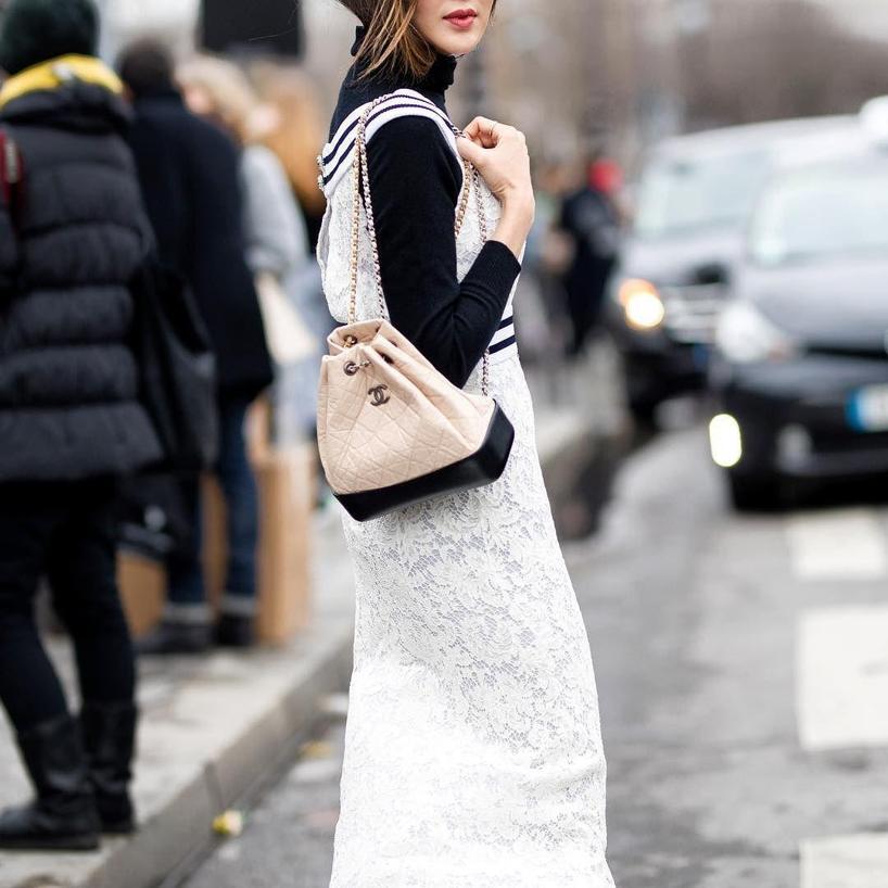 Chanel S Gabrielle Backpack Black Modesens