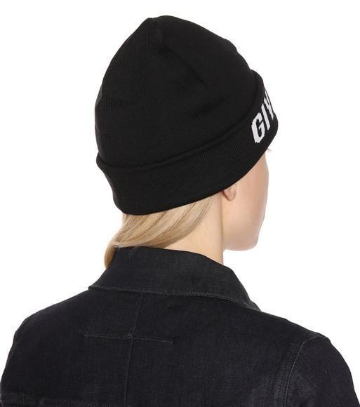 83fb16f8c1d Givenchy Cotton And Cashmere Hat In Black