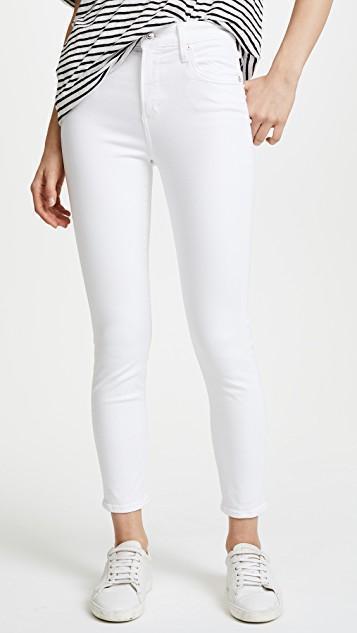 AGOLDE Sophie Crop Skinny Jeans, Beach Walk
