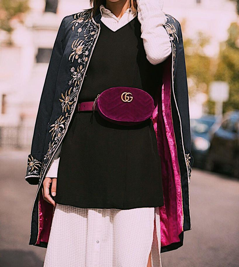 Image result for gg marmont belt bag street style