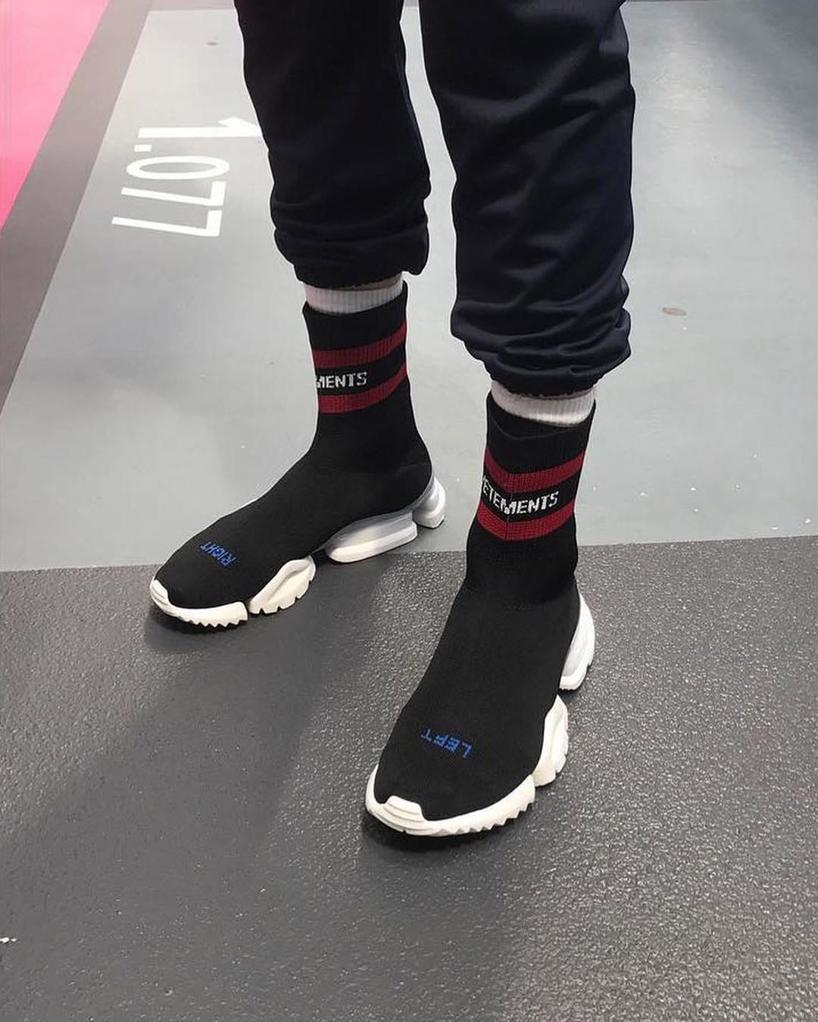 Vetements Reebok Sock Pumps yyh5SeG