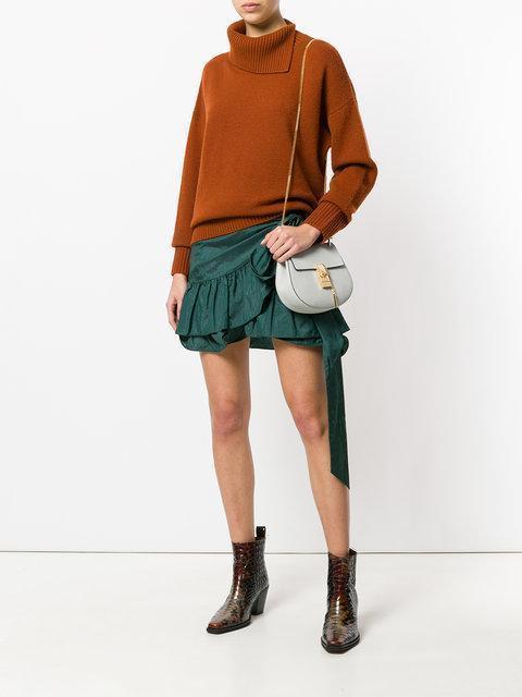 ISABEL MARANT Black Aurora Miniskirt