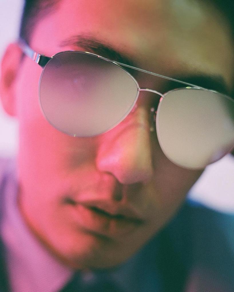 TOM FORD Sean 61Mm Aviator Sunglasses - Shiny Palladium / Smoke Mirror