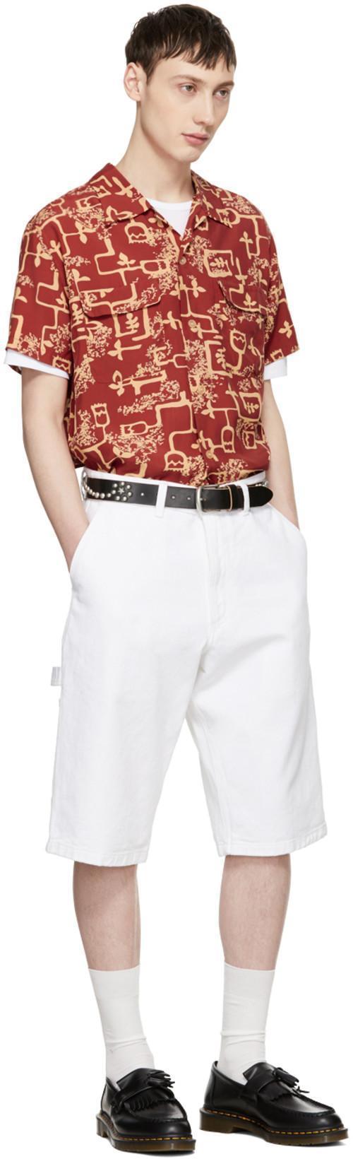 ACNE STUDIOS Crewneck T-Shirt Chalk White