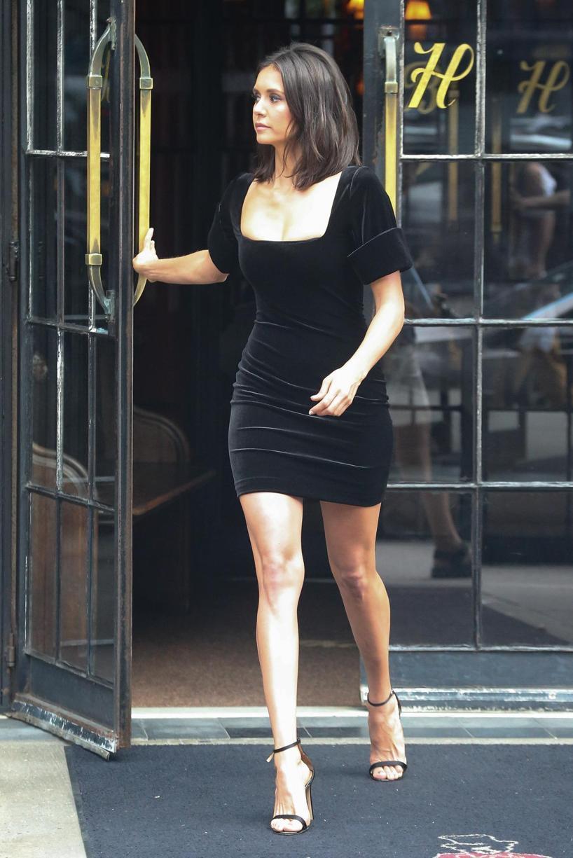 STUART WEITZMAN Women'S Nudistsong Patent Leather High-Heel Sandals, Black Calf