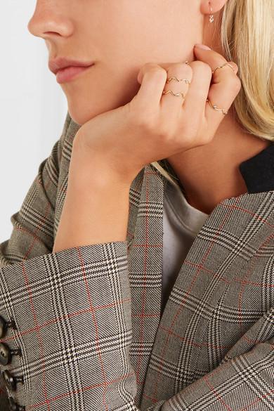 Sarah & Sebastian Orbit 9-karat Gold Pearl Earrings jRfCBROB