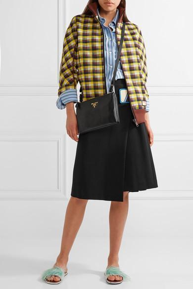 PRADA Striped Cotton Shirt, Celeste