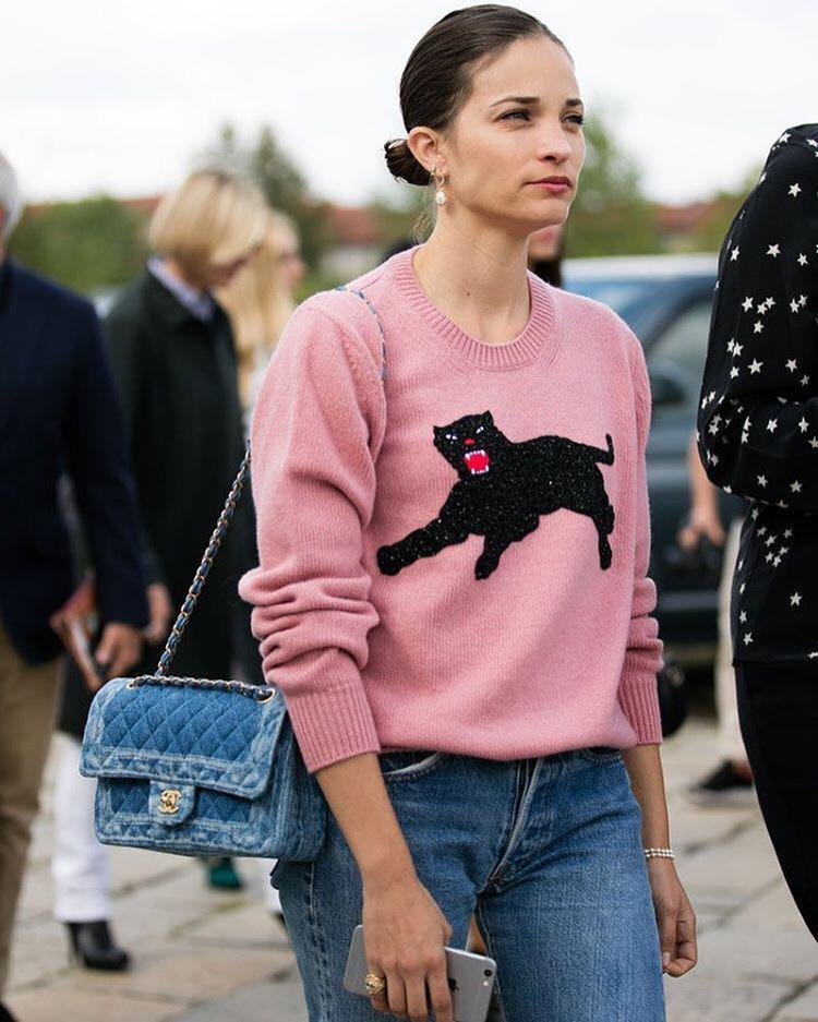 GUCCI Beaded Wool Sweater