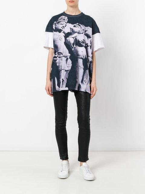 ASHISH Multicolor Printed Oversized T-Shirt