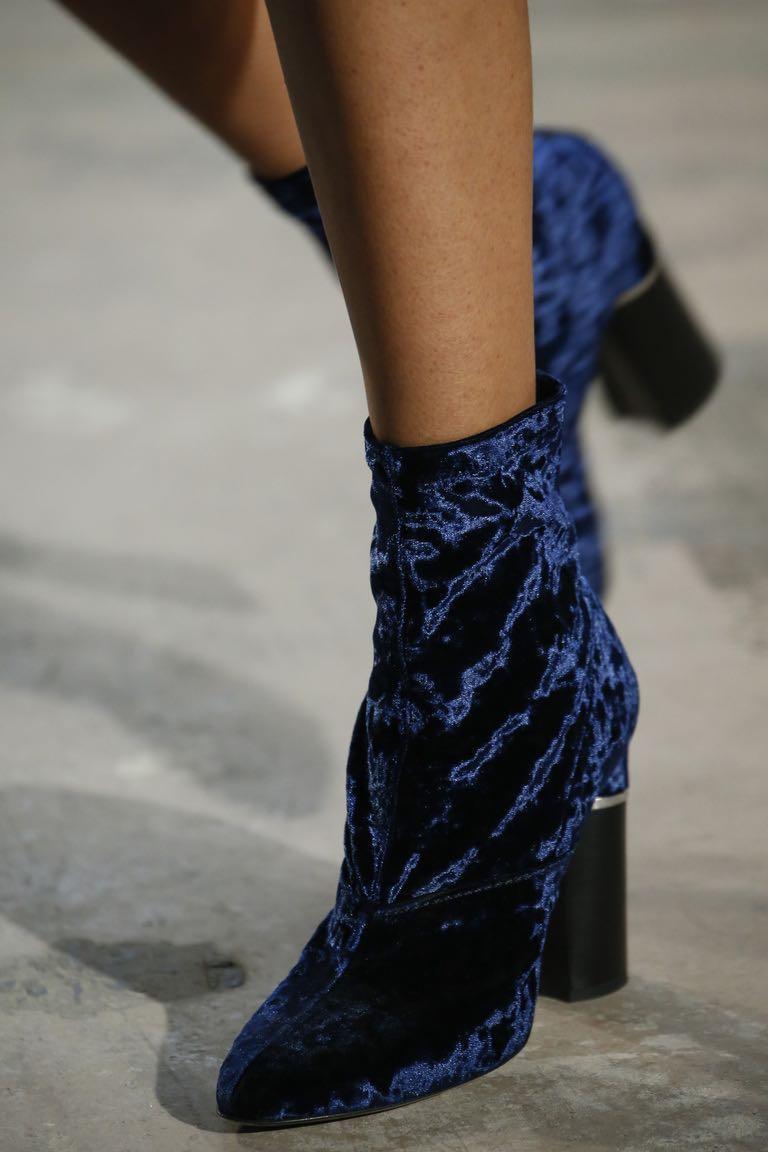 3.1 Phillip Lim Kyoto Velvet Boots Sale Genuine Outlet How Much Websites u2cddIEc1W